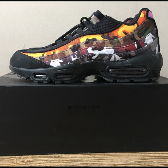 release date 218ad 6941b Air max 95 ERDL Party